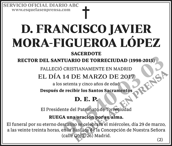 Francisco Javier Mora-Figueroa López